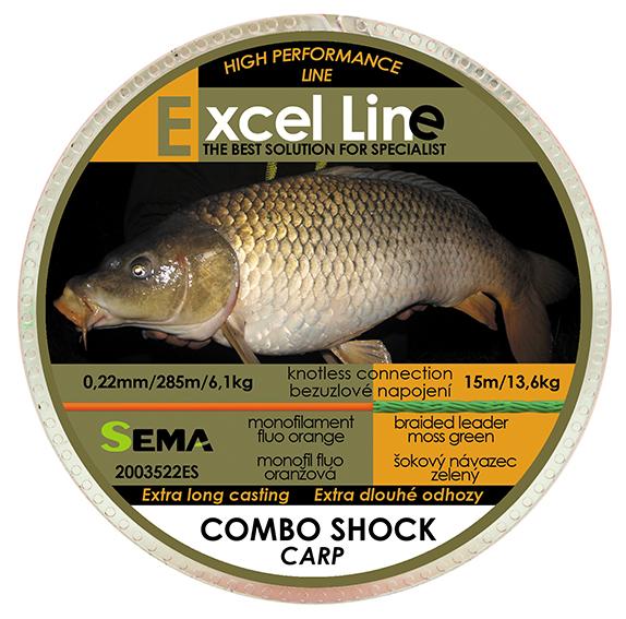 Combo Shock Carp 0,22mm