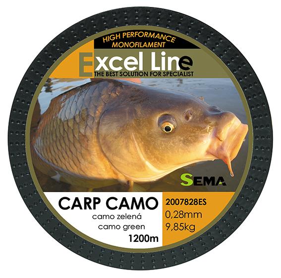 Carp camo zelená 0,28