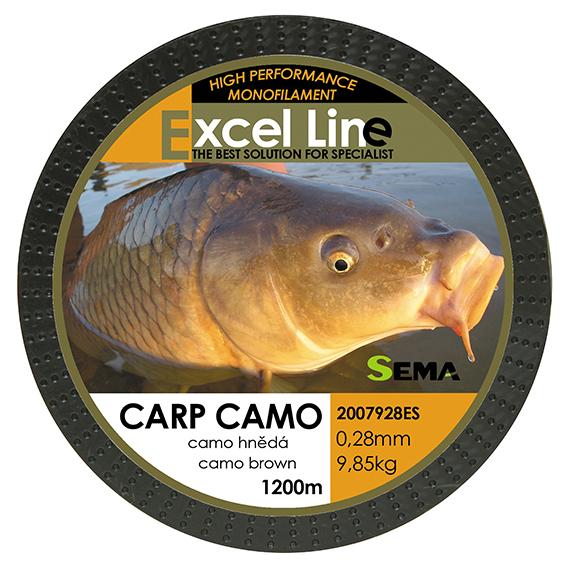 Carp camo hnědá 0,22