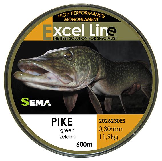 Pike zelená 0,33
