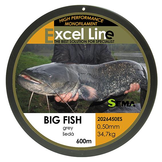 Big Fish šedá 0,70