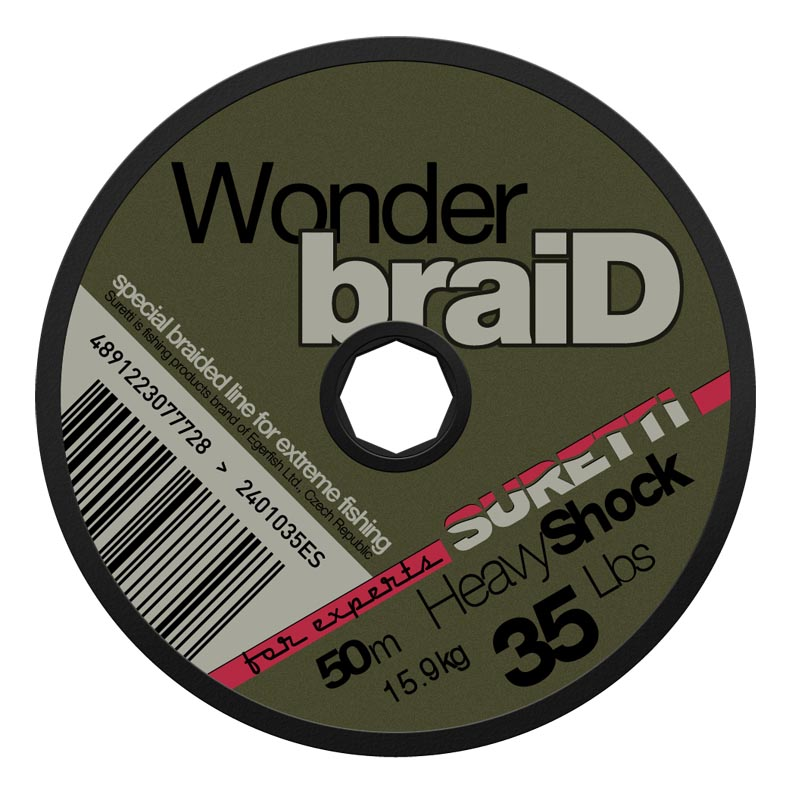 WonderbraiD Heavy Shock 35lbs 50m