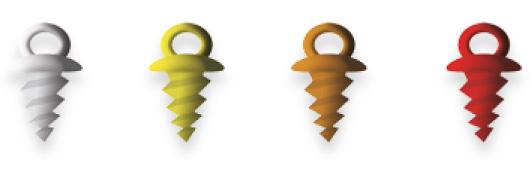Zarážka Pop Up žlutá (10ks)