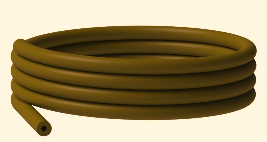 PVC hadička hnědá (2m)