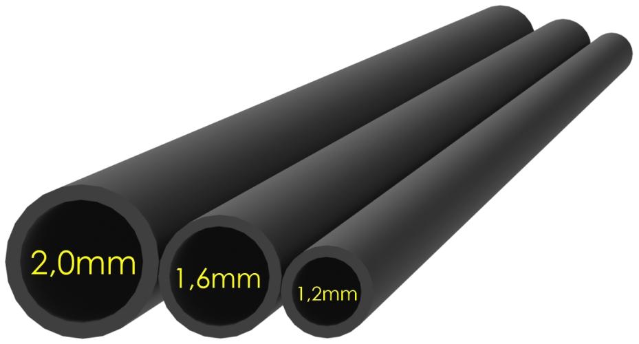 Smršťovací hadička šedá 1,2mm (10x5cm)