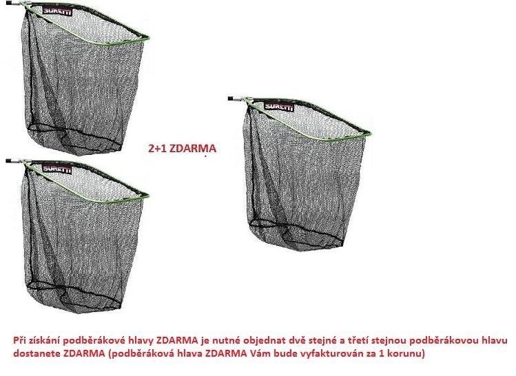 Hlava podběráku 50x40cm AKCE 2+1 ZDARMA