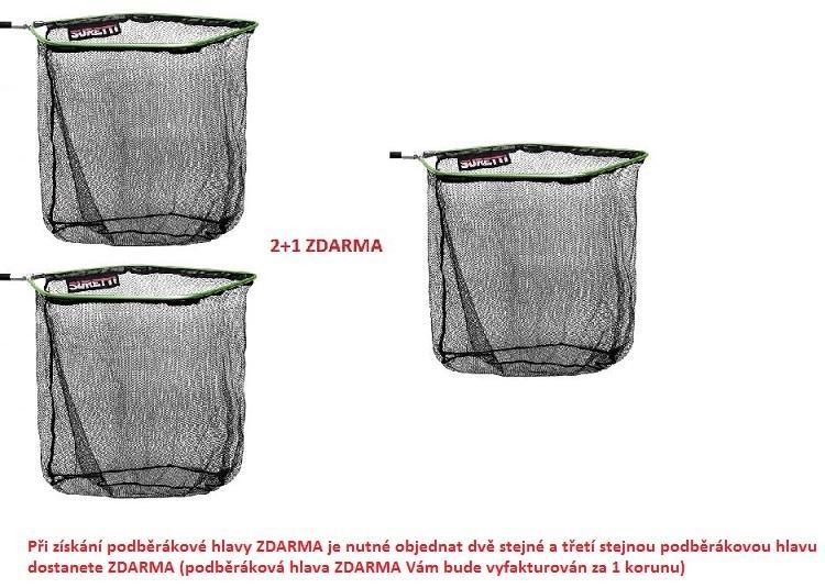 Hlava podběráku Flat 50x40cm AKCE 2+1 ZDARMA