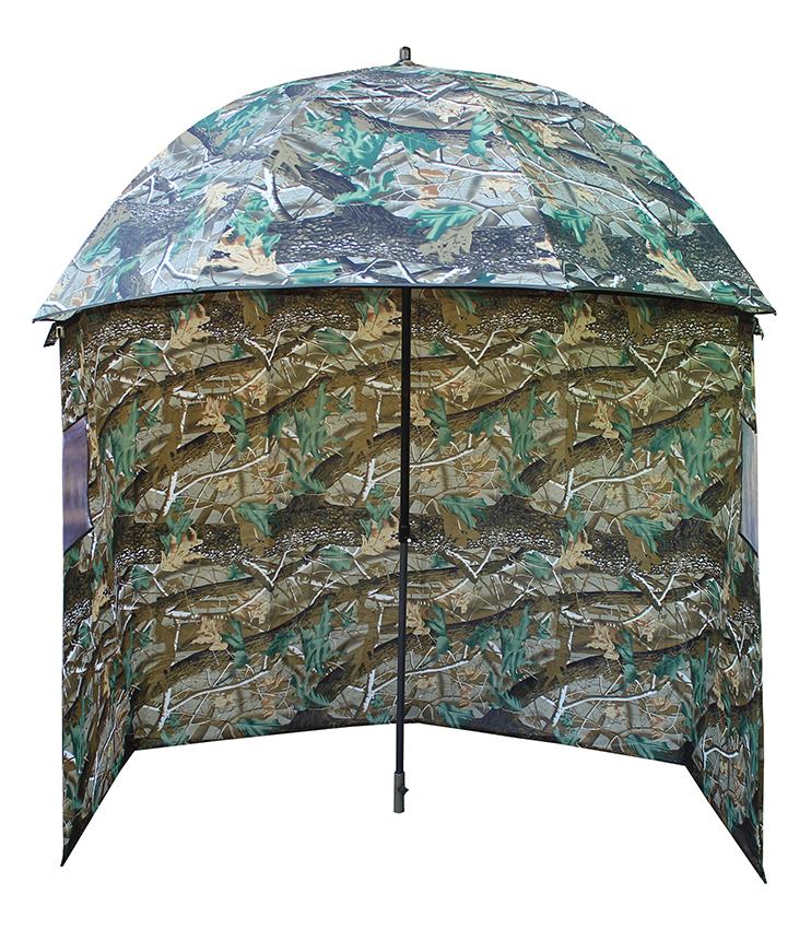 Deštník s bočnicí CAMO 190T 2,2m