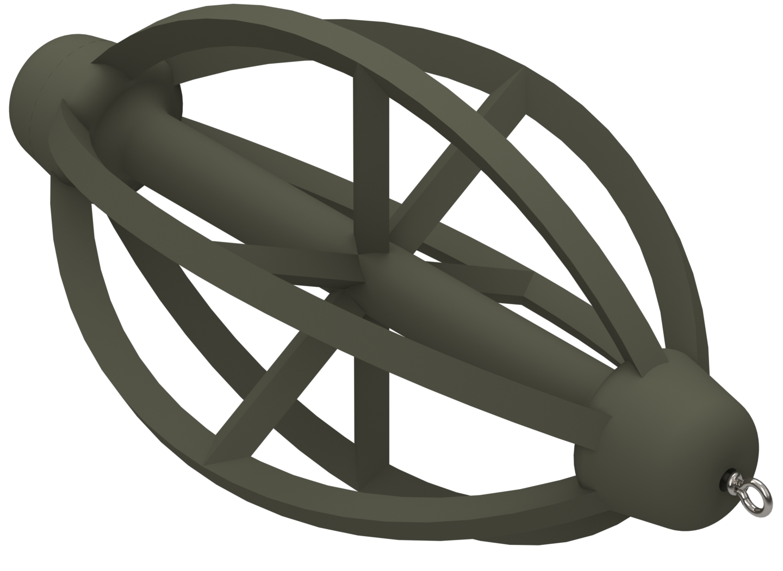 Krmítko žebrované koncové 45g
