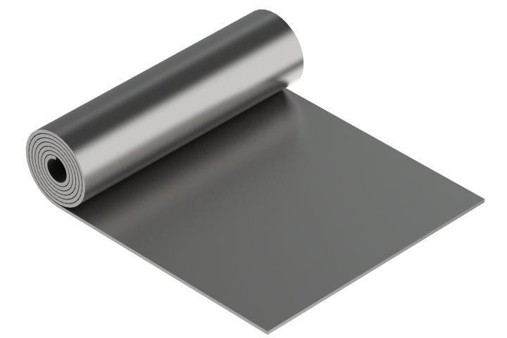 Olověná folie 2x10cm