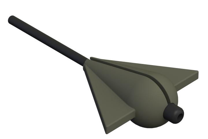 Létající hruška Bruce 30