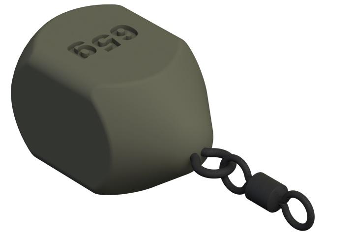 Cube s očkem a obratlíkem 60