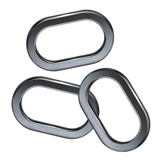 AKCE Oválné kroužky 4,5mm (10ks)