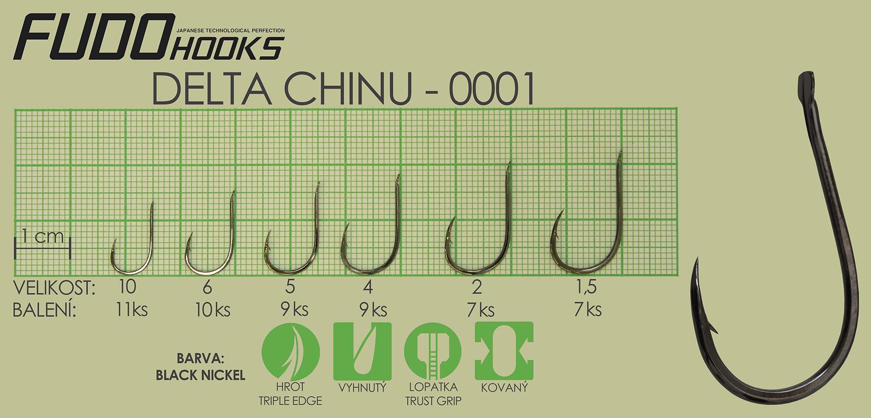 Fudo Delta Chinu 10 (bal.11ks)
