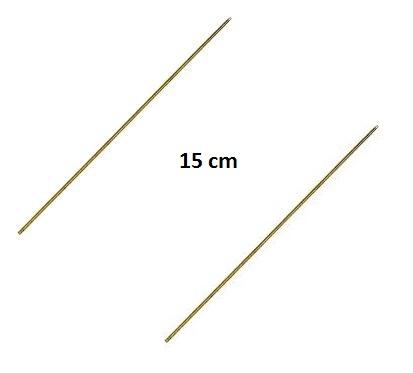 Prošívací jehla dutá 15cm (2ks)