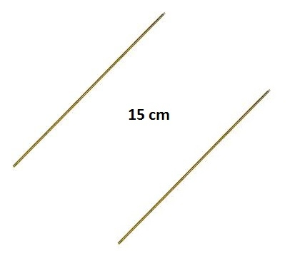 Prošívací jehla dutá 20cm (2ks)