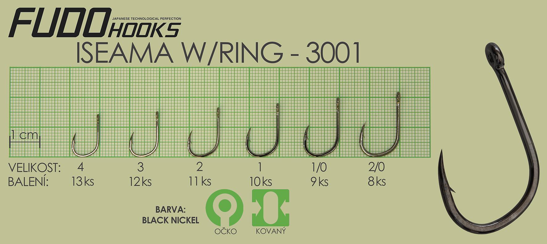 Fudo Iseama Ringed 1/0 (bal.9ks)