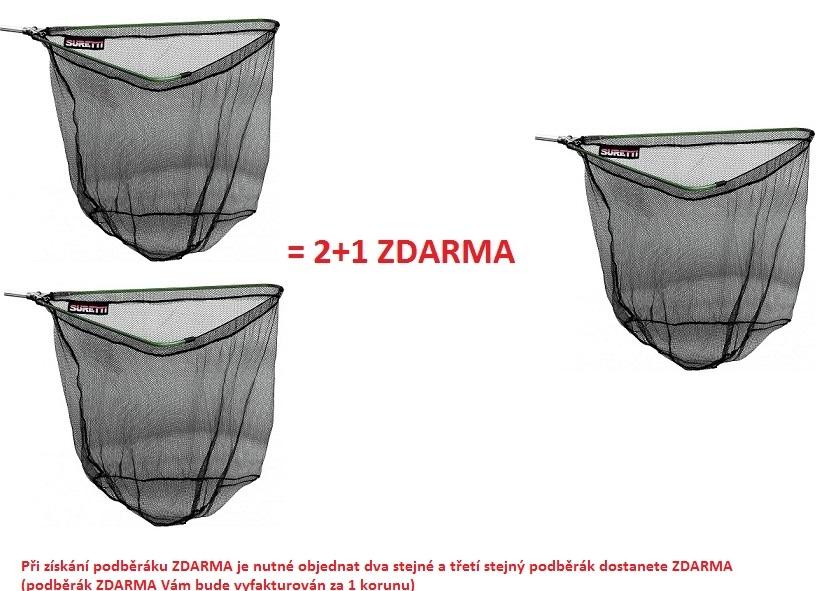 Podběrák skládací AL 1,8m/3d AKCE 2+1 ZDARMA