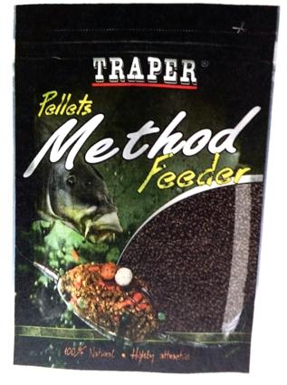 Pelety Method Feeder Halibut černý 4mm 500g