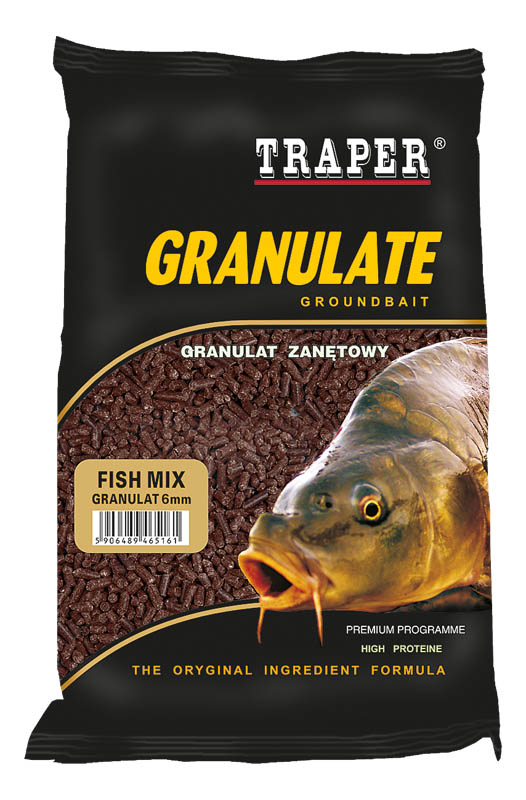 Zakrmovací granule Fish Mix 4mm 1kg