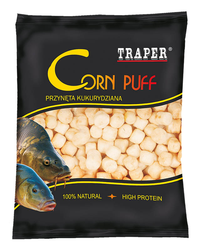 Pufovaná kukuřice Med 12mm 20g
