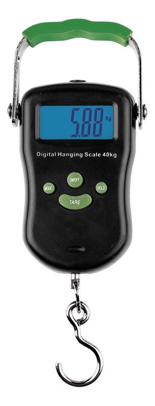 AKCE Elektronická váha do 40kg s teploměrem