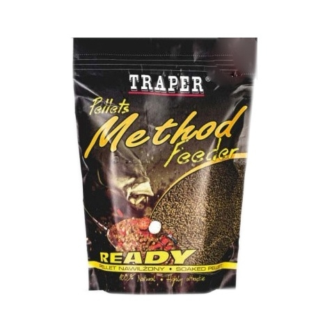 Pelety Method Feeder Ready Halibut Černý 2mm 500g