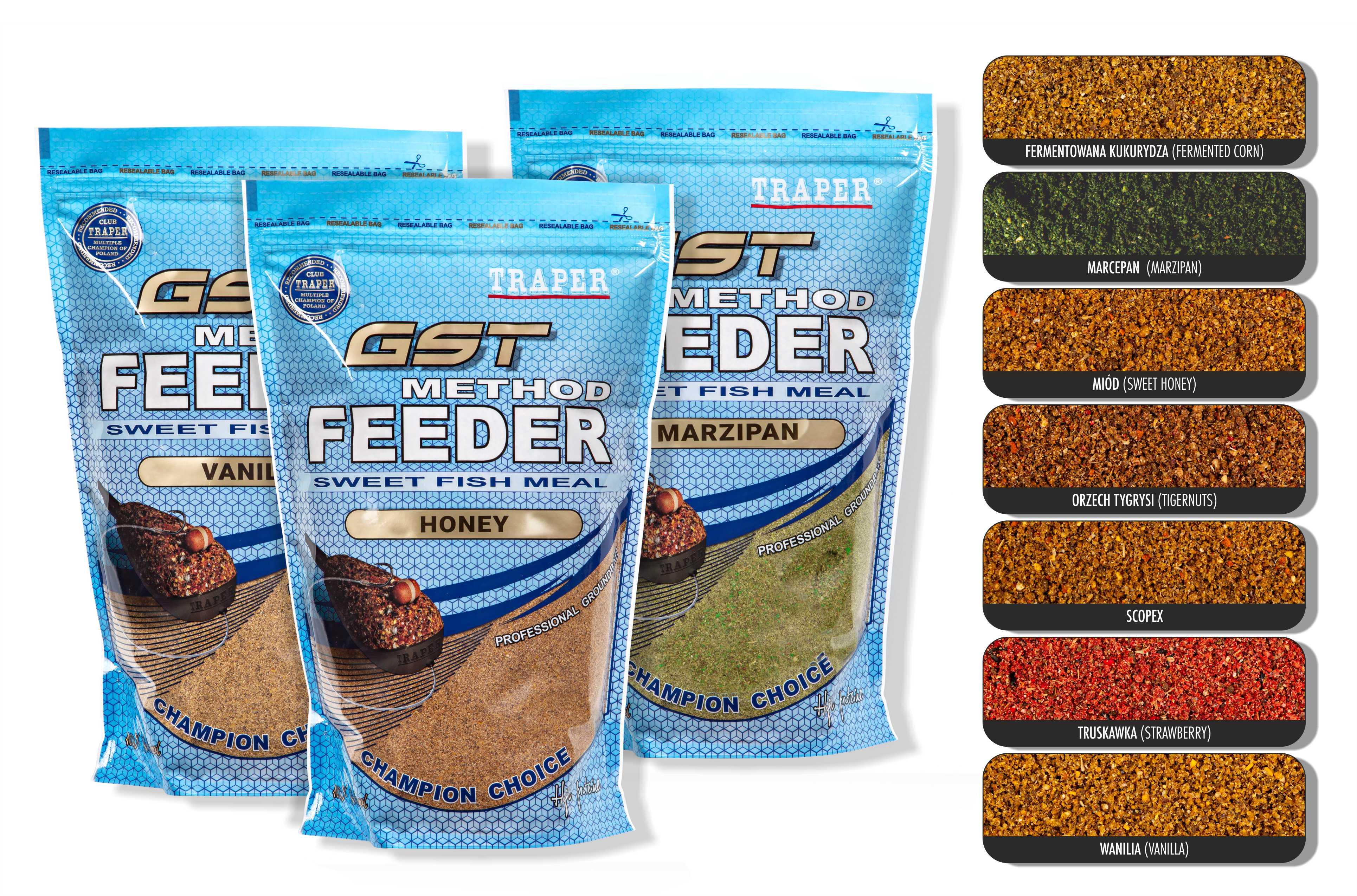 Method Feeder GST Tygří ořech 1kg
